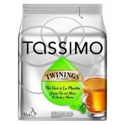 16 T-Discs Tassimo Twinings Thé Vert à la Menthe