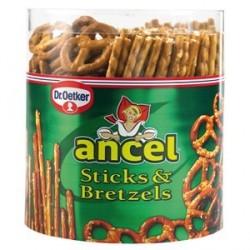 Ancel Biscuits Apéritifs Sticks et Bretzels 300 G