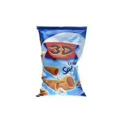 6 Paquets de 3D'S Goût Salé BENENUTS 6 x 85 G