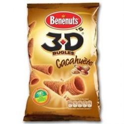 6 Paquets de 3D'S Goût Cacahuetes BENENUTS 6 x 85 G