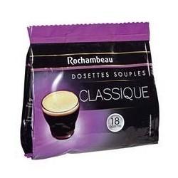 18 Dosettes de Café Classique Rochambeau