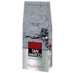 1 Kilo de Café San Marco Pur Arabica Moulu 1 KG