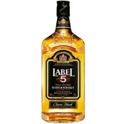 Scotch Whisky Blend Label 5 Classic Black 1 L