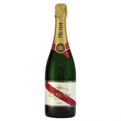 6 Bouteilles de Champagne Mumm Cordon Rouge 6 x 75 CL