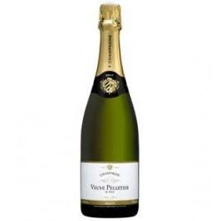 6 Bouteilles de Champagne Brut Veuve Pelletier 6 x 75 CL