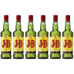 6 Bouteilles de Whisky J & B 40° 6 x 70 CL