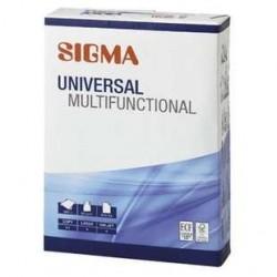 5 Ramettes de 500 Feuilles A4 Universal Sigma 5 x 80 G