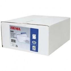 500 Enveloppes C5 F 45 x 100 mm Blanc Sigma 80 G