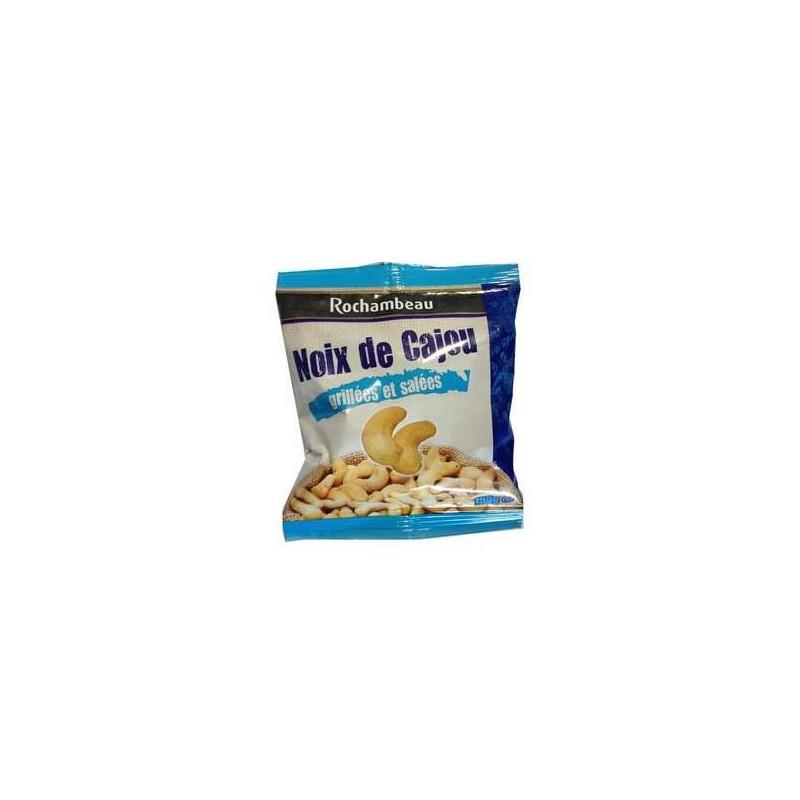 4 sachets de noix de cajou grill es et sal es rochambeau 4 x 150 g grossiste alimentaires - Noix de cajou grillees salees ...