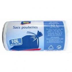 200 Sacs Poubelle Aro 10 L