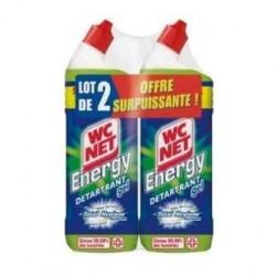 2 Gels WC Energy Détartrant WC Net 2 x 750 ML
