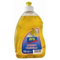 3 Bouteilles de Liquide Vaisselle au Citron Aro 3 x 500 ML