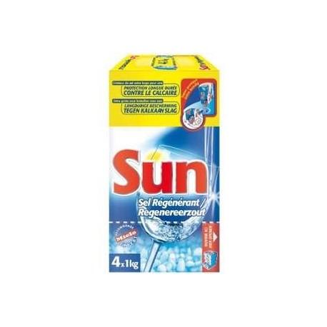 Sel Régénérant Sun 4 x 1 KG