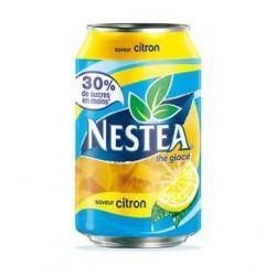 24 Canettes de Nestea Citron 24 x 33 CL
