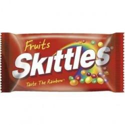 36 Paquets de Skittles Goût fruits 55 G