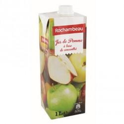6 Briques de Jus de Pomme Rochambeau 6 x 1 L