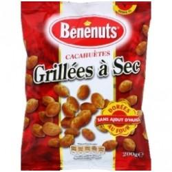 6 Paquets de Cacahuètes Grillées à Sec Dorées au Four Bénénuts 6 x 120 G