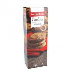 4 Paquets de Cookies au Chocolat Rochambeau 4 x 200 G