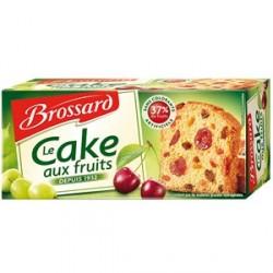 4 Paquets de Cake aux Fruits Brossard 4 x 300 G