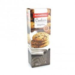 4 Paquets de Cookies Nougatine et Pépites de Chocolat Rochambeau 4 x 200 G
