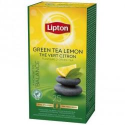 25 Sachets de Thé Vert Citron Lipton