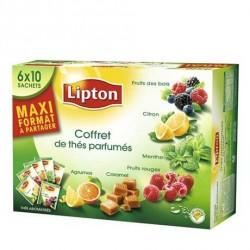 Coffret de 60 Sachets de Thés Parfumés Lipton