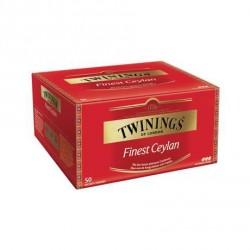 50 Sachets de Thé Finest Ceylan Twinings