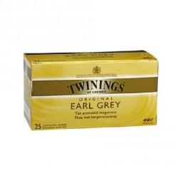 25 Sachets de Thé Earl Grey Twinings