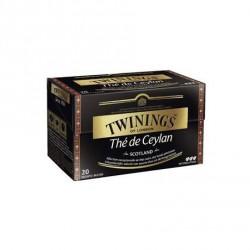 20 Sachets de Thé Ceylan Scotland Twinings