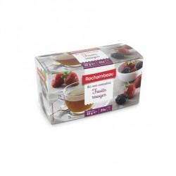 25 Sachets de Thé Fruits Rouges Rochambeau