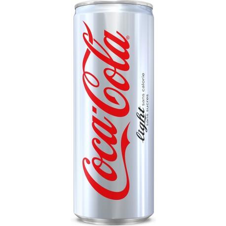 24 Canettes de Coca Cola Light 24 x 33 CL
