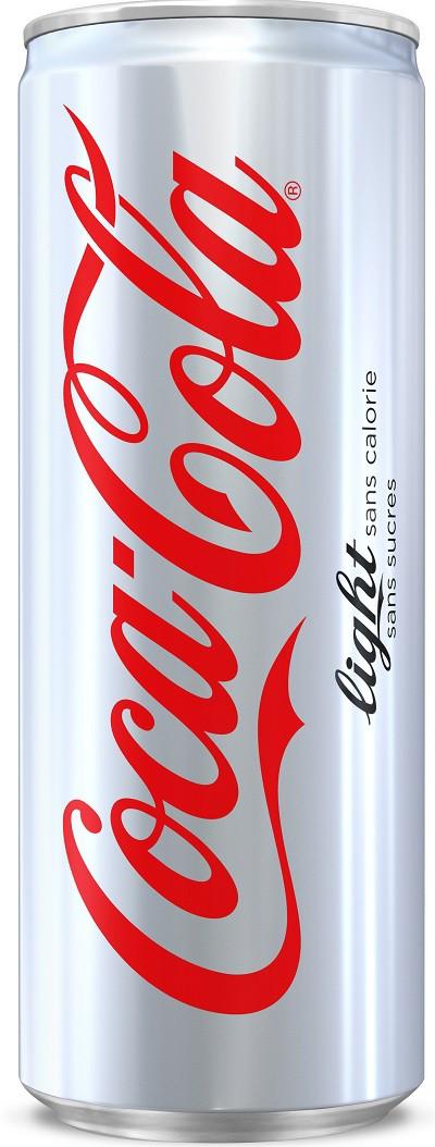 24 canettes de coca cola light 24 x 33 cl - grossiste boissons