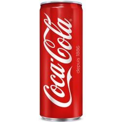 24 Canettes de Coca-Cola 24 x 33 CL