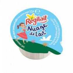 300 Coupelles de Nuage de Lait Régilait Non Sucré 300 x 7.5 G