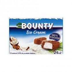 24 Barres Glacées Bounty 24 x 51 ML