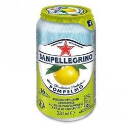 24 Canettes de San Pellegrino Pamplemousse 24 x 33 CL