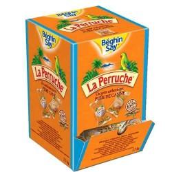 624 Sucres de Cannes Ambrés et Blancs Enveloppés La Perruche 624 x 4G
