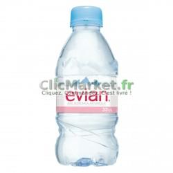 24 Bouteilles d'Eau Evian 24 x 33 CL