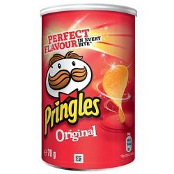 12 Paquets de Mini Pringles Original 12 x 70 G