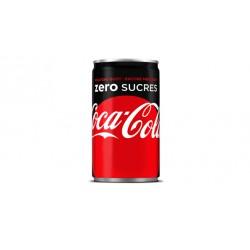 24 Mini Canettes de Coca-Cola Zero 24 x 15 CL
