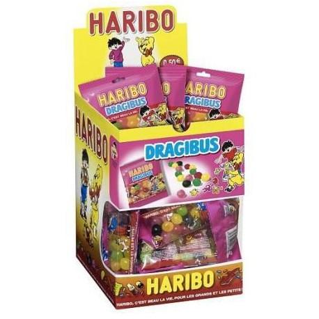30 Sachets de Bonbon Dragibus Bicool Haribo 30 x 40 G
