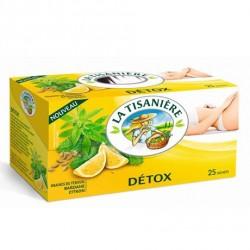 25 Sachets d'Infusion Detox Citron 25 La Tisanière