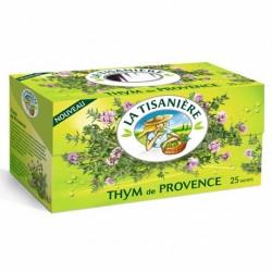 25 Sachets d'Infusion Thyn de Provence La Tisanière