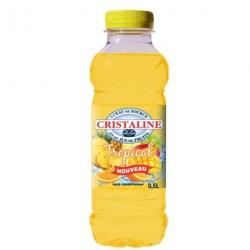 24 Bouteilles d'Eau Cristaline Tropical 24 x 50 CL