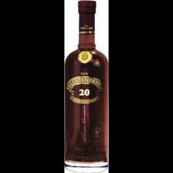 Rhum Centenario 20 ans 40° 70 CL