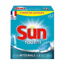 Sun Tout en 1 Action Intégrale 52 Pastilles