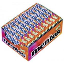 40 Rouleaux de Mentos Fruits 40 x 38 G