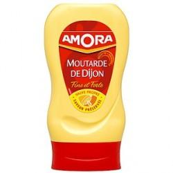 Amora Moutarde de Dijon Fine et Forte Flacon Souple 265 G